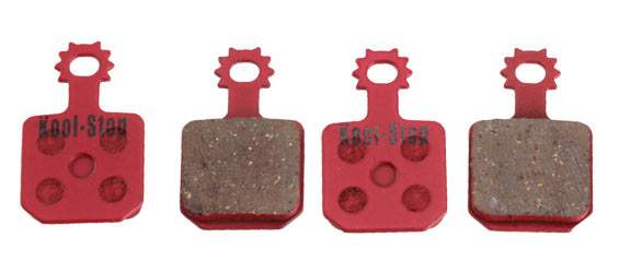Kool-Stop Steel Disc Pads (Magura) Model | Option: Magura MT5/7, 4pcs | Organic