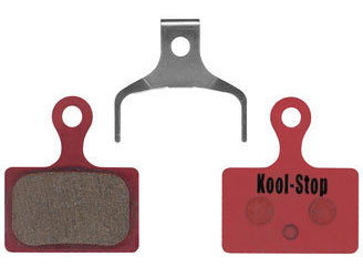 Kool-Stop Steel Disc Pads (Shimano) Model | Option: Direct Mount BR-RS505/805, Dura Ace BR-R9170 | Organic