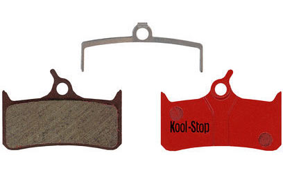 Kool-Stop Steel Disc Pads (Shimano) Model | Option: XT BR-M755 also compatible with Sram mech. 9.0, Trickstuff the Cleg DH, 4. Grimeca system 8, Hope Mono M4, Tech M4, Stealth Race E4, Tech 4 E4 | Organic