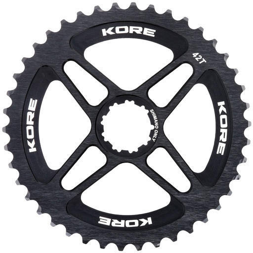 Kore Mega Range Sprocket Shimano Type Color: Black