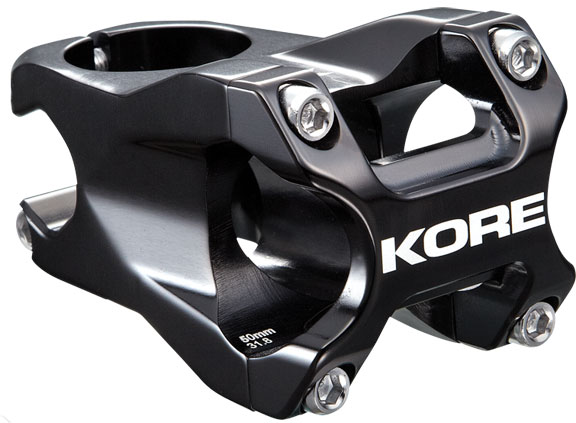 Kore Repute Stem Clamp Diameter: 31.8mm