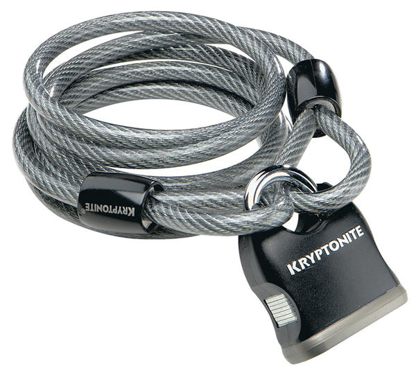 Kryptonite Kryptoflex 818 Cable and Key Padlock
