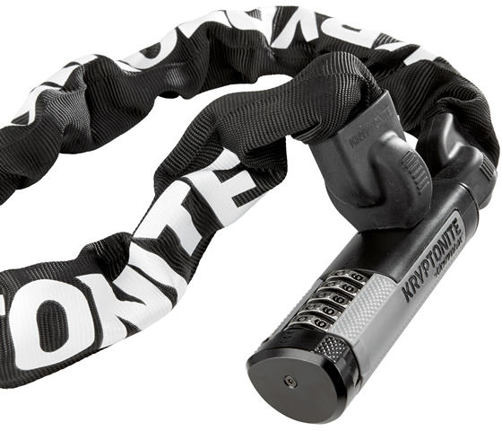 Kryptonite KryptoLok 912 Combo Chain Color: Black/Grey