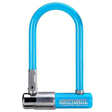 Kryptonite KryptoLok Series 2 Mini-7 U-Lock Color: Blue