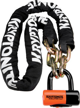 Kryptonite New York Chain (w/Evolution Series 4 Disc Lock) (5.5 feet)
