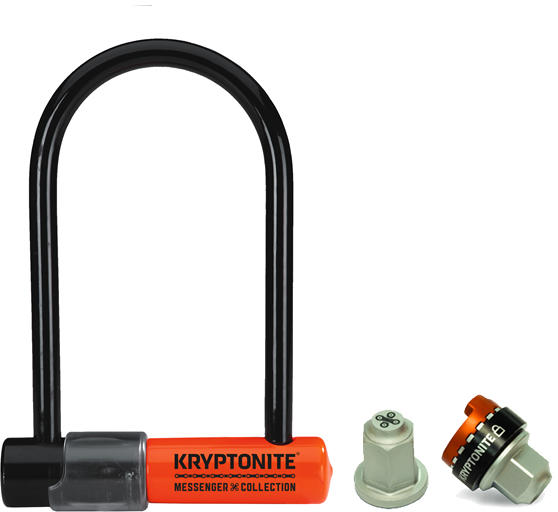 Kryptonite The Total Package Color: Black/Orange