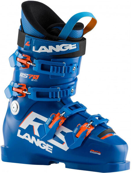 Lange RS 70 Short Cuff Color: Power Blue