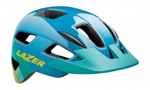 Lazer Sport Gekko Color: Blue Yellow