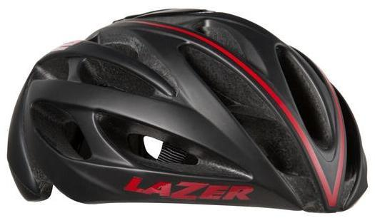 Lazer Sport O2 DLX Color: Black/Red Line