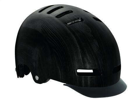 Lazer Sport Street+ DLX Helmet Color: Black Wood