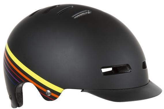 Lazer Sport Street+ Helmet Color: Black Sunset