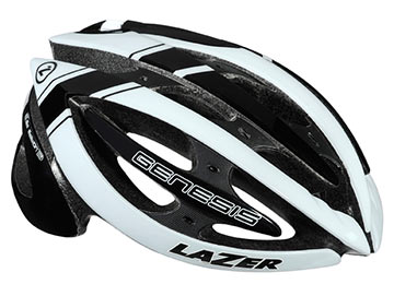 Lazer Sport Genesis Color: Black/White