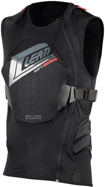 Leatt Body Vest 3DF AirFit Color: Black/Red