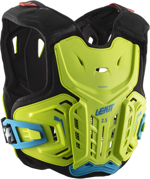 Leatt Chest Protector 2.5 Jr Color: Lime/Blue