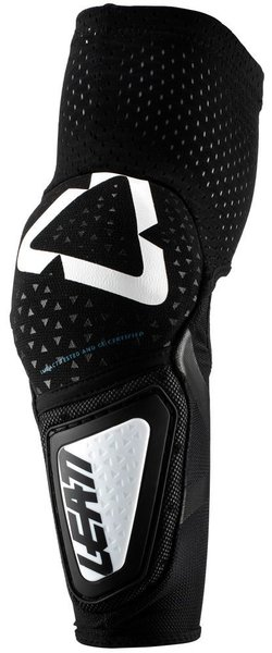 Leatt Elbow Guard 3DF Hybrid Junior Color: Black/White