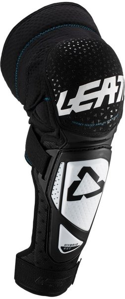 Leatt Knee & Shin Guard 3DF Hybrid EXT Junior Color: Black/White