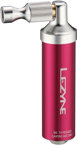 Lezyne Alloy Drive CO2 Color: High-Polish Red