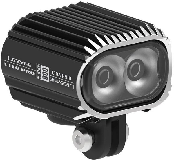 Lezyne E-Bike Lite Pro Drive 800 Switch (High Volt) Color: Black
