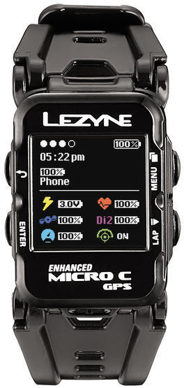 Lezyne Micro C GPS Watch HR