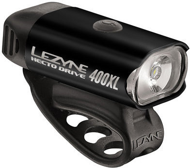 Lezyne Hecto Drive 400XL Color: High-Polish Black