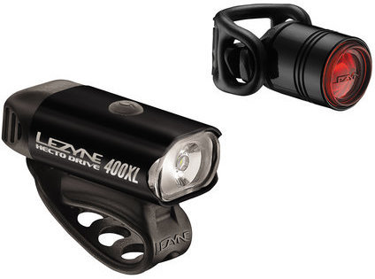 Lezyne Hecto Drive 400XL / Femto Pair Color: High-Polish Black