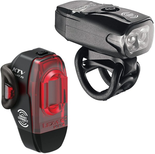 Lezyne KTV Pro Smart Pair Color: Black