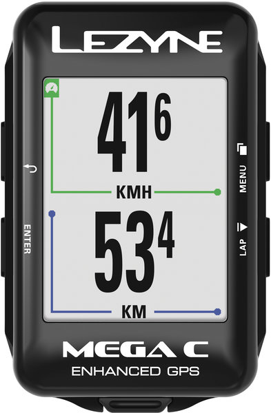 Lezyne Mega C GPS Color: Black