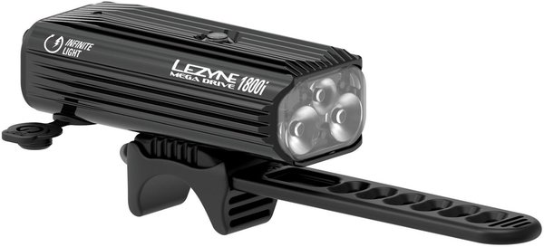 Lezyne Mega Drive 1800i Color: Black/Hi Gloss