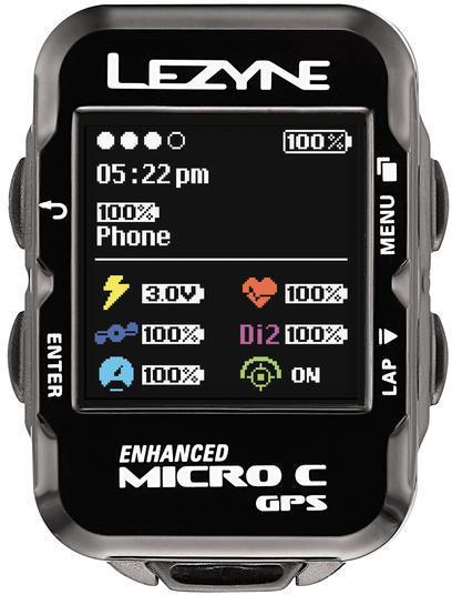 Lezyne Micro C GPS HR Loaded