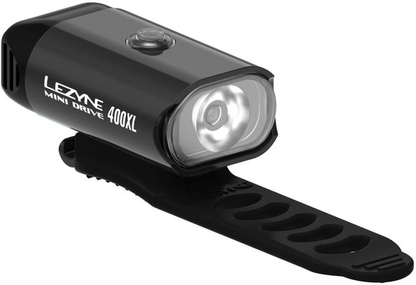 Lezyne Mini Drive 400XL Color: Black/Hi Gloss