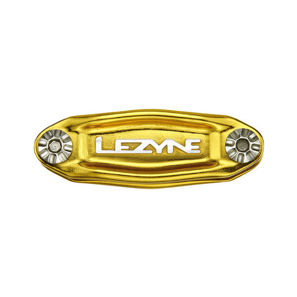 Lezyne Stainless 12 Color: High-Polish Gold