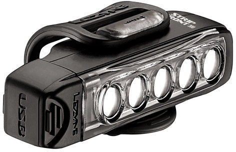Lezyne Strip Drive Front Color: Black