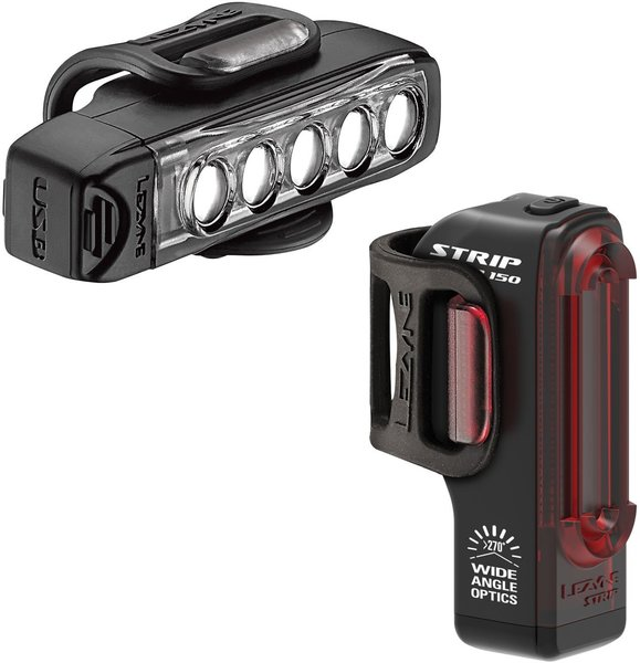 Lezyne Strip Drive Pair Color: Black
