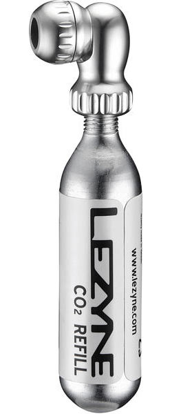 Lezyne Twin Speed Drive CO2 Color: High-Polish Silver