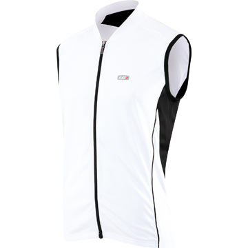 Louis Garneau Mistral Sleeveless Jersey Color: White