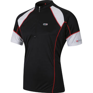 Garneau Lite Bam Jersey Color: Black/White