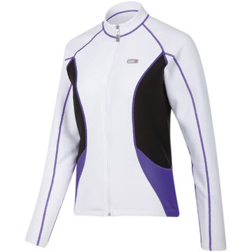Louis Garneau Women's Delano Jersey Color: White