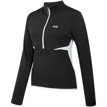 Garneau Women's Aviano Jersey Color: Black/White