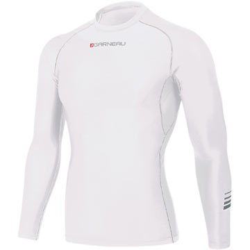 Garneau Compress R Long Sleeves Color: White