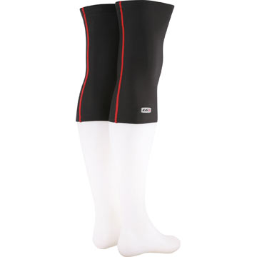 Louis Garneau Knee Warmers Color: Red/Black
