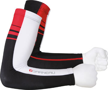 Louis Garneau Equipe Arm Warmers Color: Red