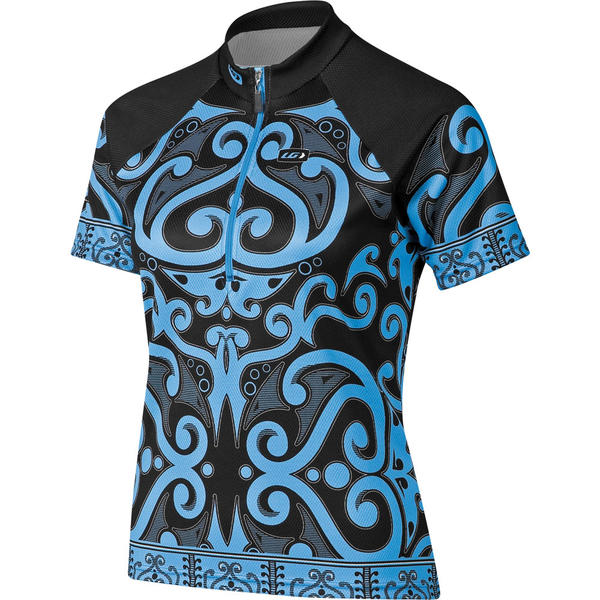 Garneau Women's Coral Jersey Color: Blue Print
