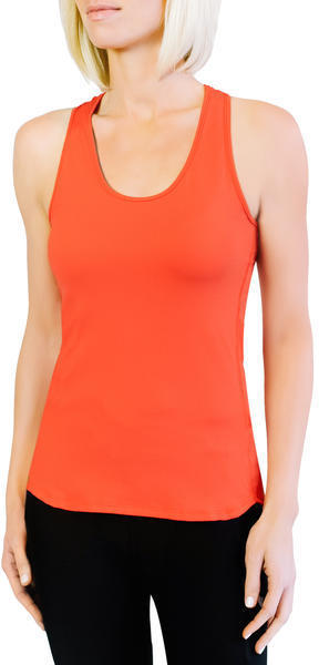 Lift Cyclewear Racerback Tank Color: Coral