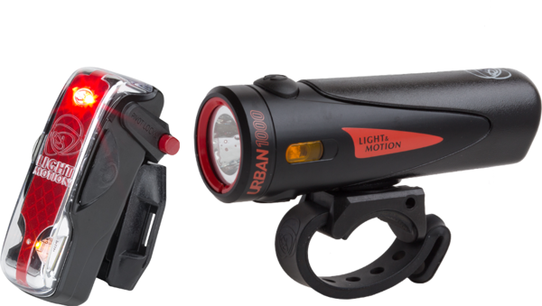 Light & Motion Urban 1000 Commuter Combo Color: Trooper