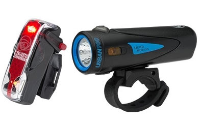 Light & Motion Urban 900 Commuter Combo Color: Longfin