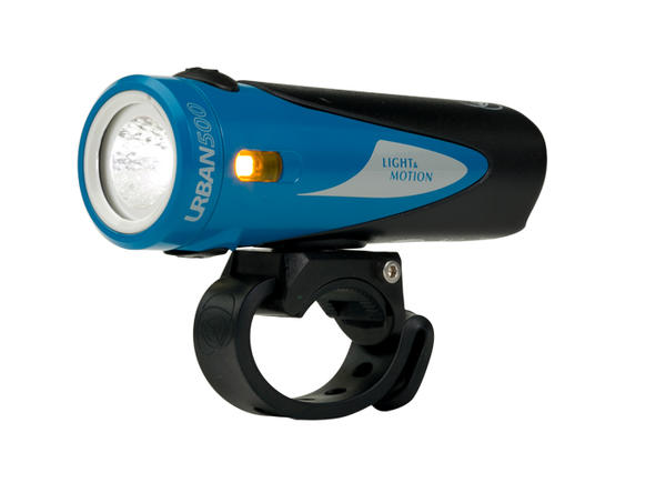 Light & Motion Urban 500 Color: Blue Ribbon