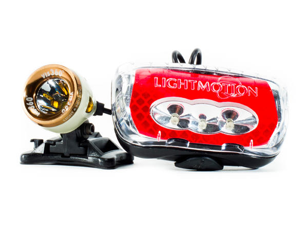 Light & Motion Vis 360 + Lighting System
