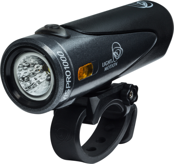 Light & Motion Vis Pro 1000 Headlight Color: Blacktop