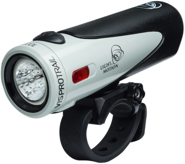Light & Motion Vis Pro 1000 Trail Headlight Color: Light Grey/Black