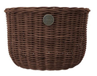 Linus Oval Basket Color: Brown